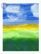 Art Greeting Card - Landscape 1